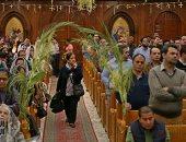 """الأقباط يحتفلون بـ""""أحد السعف"""" ذكرى دخول المسيح أورشليم"""