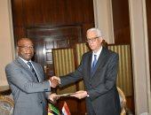 نائب وزير الخارجية يتسلم رسالة من رئيس موزمبيق للرئيس السيسى