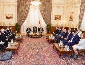 صور.. على عبد العال يلتقى بوفد برلمانى قبرصى