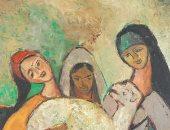 لوحات تحية حليم للبيع فى دار بونهامز بلندن بـ50 ألف يورو