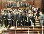 السيد الشريف لطلبة الإسكندرية: باب البرلمان مفتوح للجميع والشباب هم المستقبل