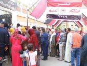 طوابير الناخبين أمام اللجان فى ثانى أيام الاستفتاء على تعديلات الدستور