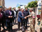 صور.. السيد البدوى يدلى بصوته فى الاستفتاء على التعديلات الدستورية بالمنوفية