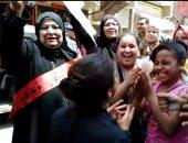 صغار السن يشاركون فى فرحة الاستفتاء على التعديلات الدستورية.. صور