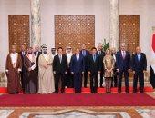 السيسى يؤكد على أهمية صياغة خطة عمل استراتيجية عربية لاستثمار طاقات الشباب