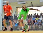 مروان الشوربجى وفارس الدسوقى يتأهلان لربع نهائى بطولة الجونة للاسكواش