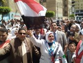 صور.. مسيرات بـ3 محافظات لدعوة المواطنين للمشاركة فى الاستفتاء