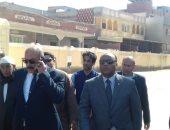 صور.. رئيس لجنة الانتخابات بالمحلة ومدير أمن الغربية يتفقدان لجان الاستفتاء