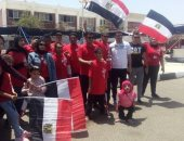 صور.. ذوى القدرات والهمم بجنوب سيناء يشاركون فى استفتاء التعديلات الدستورية