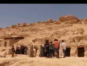 """""""سكاى نيوز"""" تبرز اكتشافات مقابر أثرية بمصر عمرها 3500 عام"""