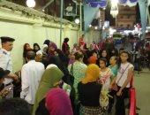صور.. استمرار توافد الناخبين على لجان الاستفتاء بمحافظة الأقصر