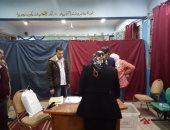 فيديو وصور .. بدء فرز الأصوات على الاستفتاء بلجان التجمع