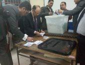 اللجنة العامة بمصر القديمة تتسلم محاضر أصوات 36 لجنة فرعية