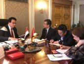 وزير التعليم العالى يستقبل مسئول الشئون التعليمية بسفارة الصين