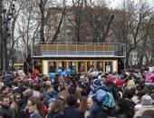 يحتفل بعيد ميلاده الـ120.. تعرف على مهرجان الترام فى روسيا.. صور