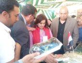 صور.. نائب وزير الزراعة تفتتح المعرض الزراعى فى جنوب سيناء