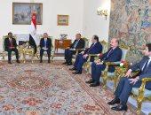 السيسى يؤكد موقف مصر الثابت والداعم لوحدة واستقرار الصومال