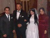 """صور.. شاهد زفاف ابنة ماجد المصرى فى مسلسل """"زلزال"""""""