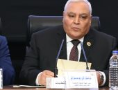 صور.. رئيس الوطنية للانتخابات يدحض محاولات قوى الشر التى استهدفت الاستفتاء