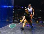 رنيم الوليلى تتأهل لنصف نهائى بطولة الجونة الدولية المفتوحة للاسكواش