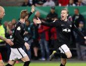 لايبزيج يتأهل لنهائي كأس ألمانيا بثلاثية أمام هامبورج