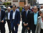 رئيس الوزراء يتفقد مجمع هيئات التأمين الصحى الشامل فى بورسعيد