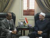 مفتى الجمهورية يستقبل سفير الهند فى القاهرة لبحث أوجه تعزيز التعاون الدينى