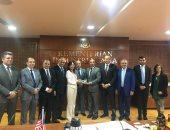وزيرة الصناعات الماليزية تيريزا كوك تستقبل وفد مجلس الأعمال المصرى الماليزى