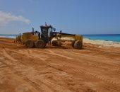 صور..محافظ مطروح: وقف أعمال البناء بمحاذاة الكورنيش الجديد لمدة 6 أشهر