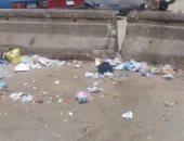 شكوى من انتشار القمامة بشارع الحى بالمرج