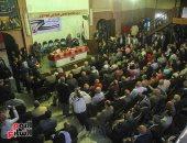 صور.. توافد قيادات وأعضاء التجمع لحضور الانتخابات الداخلية للحزب