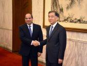 السيسى لمسؤول صينى: سياستنا ثابتة بالتفاعل الإيجابى مع جميع دول الجوار