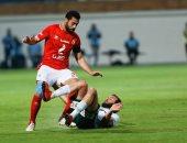 75 دقيقة.. المصري يبحث عن الهدف الأول بعد تقدم الأهلي بثنائية.. صور