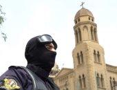 انتشار قوات الأمن بمحيط الكنائس قبل ساعات من احتفالات عيد الميلاد