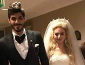 نجوم الرياضة فى حفل زفاف على جبر.. صور