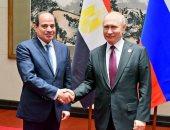 """""""بوتين"""" يهنئ السيسى بنجاح الاستفتاء والمشاركة العريضة للشعب المصرى"""