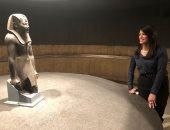 الدكتورة رانيا المشاط: الملك تحتمس الثالث كان محاربا وراع للفنون