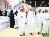 سفير السعودية بالإمارات يزور معرض أبوظبى الدولى للكتاب 2019.. صور
