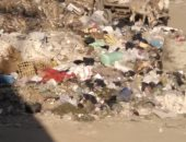 شكاوى من انتشار القمامة أسفل الكوبرى الدائرى بمنطقة البساتين ..صور