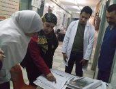 وكيل صحة المنوفية تتفقد مستشفى الشهداء المركزى وتحيل المخالفين للتحقيق