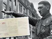 بعد 74 عاما.. رسالة انتحار هتلر معروضة للبيع فى مزاد علنى.. اعرف سعرها