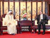 صور.. بن راشد يلتقى نائب رئيس الصين ويطلق محطة عالمية لطريق الحرير الجديد بدبى
