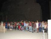 عروض الصوت والضوء تستقبل الآلاف بمناسبة الاحتفال بتحرير سيناء وأعياد الربيع