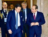 """السيسى يؤكد لرئيس وزراء إيطاليا دعمه الكامل للكشف عن ملابسات مقتل """"ريجيني"""""""