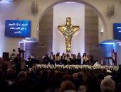 مندوب رئاسة الجمهورية يقدم التهنئة بعيد القيامة فى الكنيسة الإنجيلية