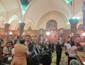 قداس لطلبة الثانوية فى احتفالات الزقازيق بدخول المسيح أرض مصر