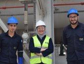 تقود كتيبة رجال.. غادة شحاتة أول مهندسة تتولى منصب مدير مشروعات لإنتاج البنزين