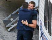 فيديو وصور..أحضان بين ثور وكابتن أمريكا آخر أيام تصوير Avengers: Endgame