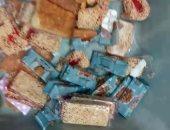 """صور .. """"حلوى التامول"""" أحدث طرق تهريب الأقراص المخدرة بمطار القاهرة"""