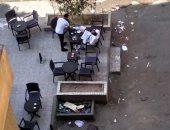 قارئة تشكو مخالفات المقاهى بمنطقة النزهة الجديدة